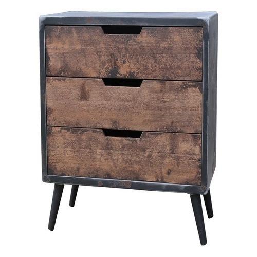 Συρταριέρα με 3 συρτάρια σειρά Rusty