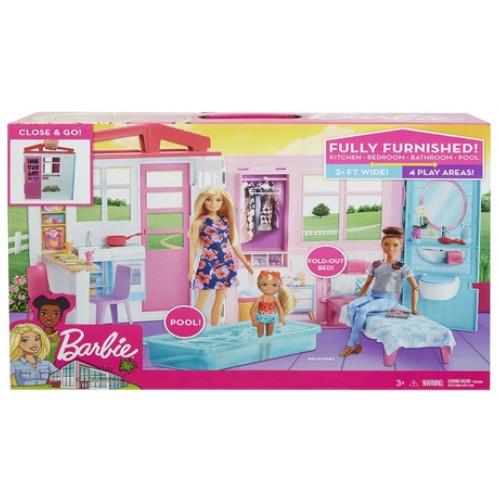 Barbie Σπιτάκι – Βαλιτσάκι