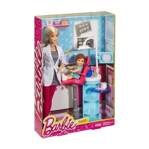 Barbie Οδοντίατρος Σετ Παιχνιδιού