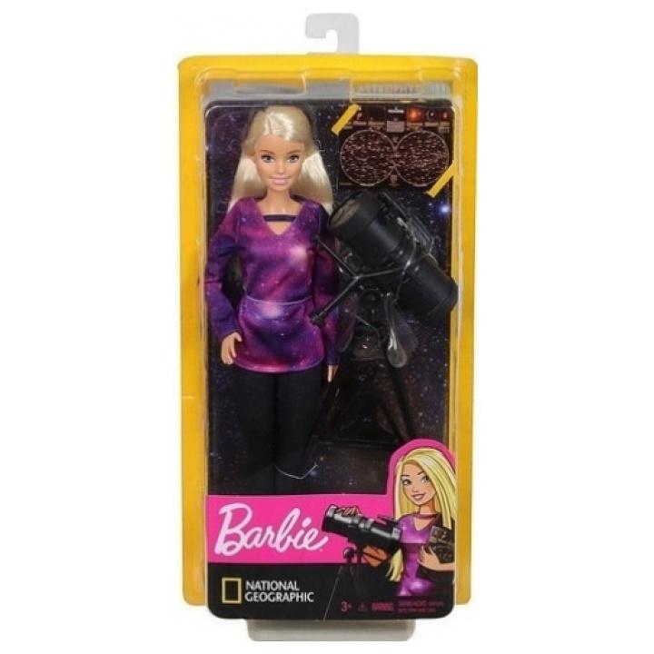 Barbie National Geographic astrofysikos