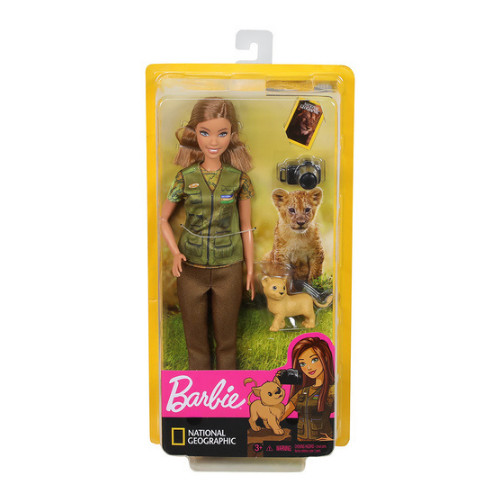 Barbie National Geographic fotoreporter