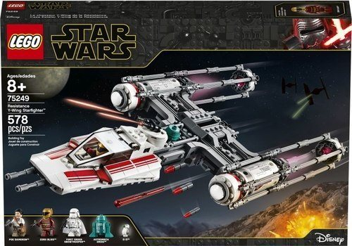 Resistance Y-Wing Starfighter 75249 papanikolaoustore.gr