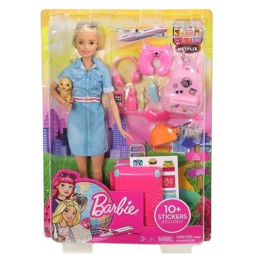 Barbie Dreamhouse Adventures-Barbie Έτοιμη Για Ταξίδι FWV25 papanikolaoustore.gr