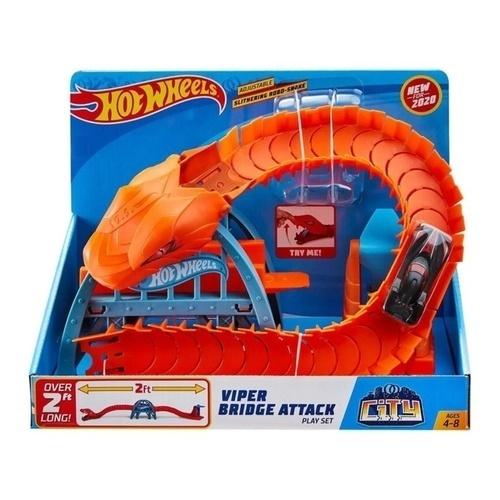Hot Wheels Viper Bridge Attack Play Set GJK88 papanikolaoustore.gr