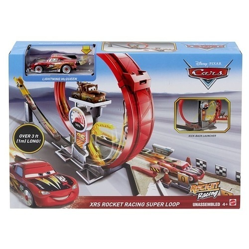 Cars Πιστά Xrs Rocket GJW44 papanikolaoustore.gr