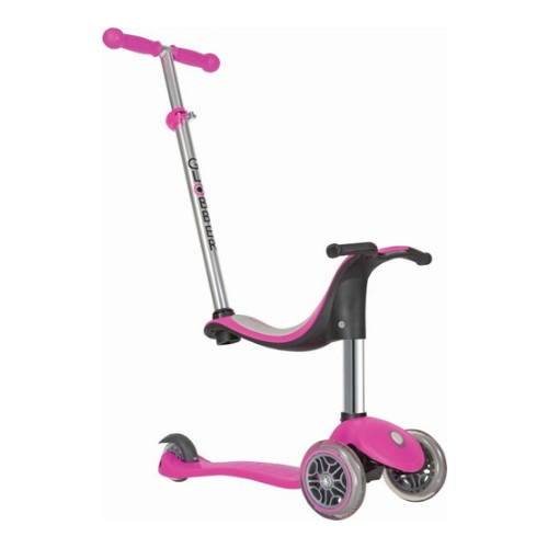 Globber Scooter Evo 4 In 1 Deep Pink