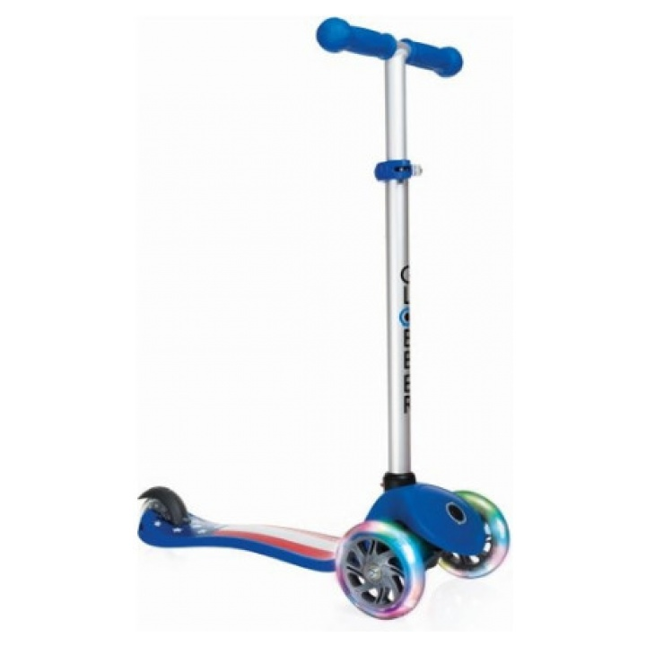 Globber Scooter Primo Fantasy Lights American-Navy Blue