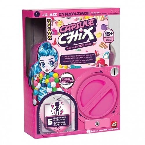 Capsule Chix Sweet Circuits Κούκλα Μόδας 1863-59200 papanikolaoustore.gr