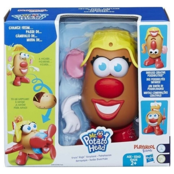 Playskool Friends Mr. Potato Head - Fryin' High Airplane E2041 papanikolaoustore.gr