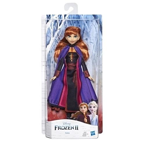 Disney Frozen II Κούκλα Άννα με Μακριά Κόκκινα Μαλλιά και Φόρεμα E6710 papanikolaoustore.gr