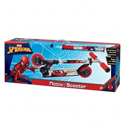 Marvel Spiderman Λαμπάδα Πατίνι Σκούτερ 1500-15693 papanikolaoustore.gr