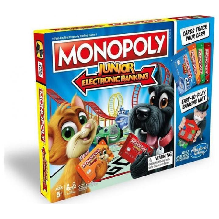 Monopoly Junior Ηλεκτρονική Τράπεζα E1842 papanikolaoustore.gr