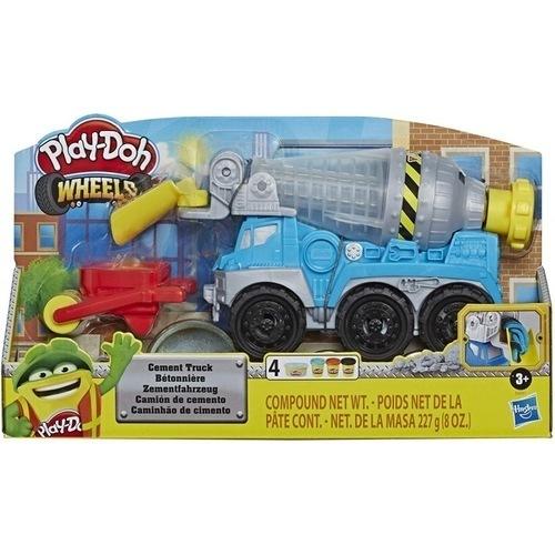 Play-Doh Cement Truck E6891 papanikolaoustore.gr