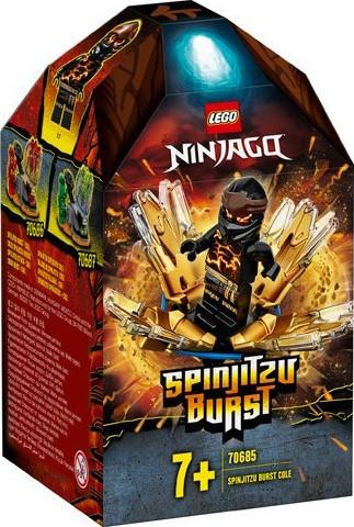 Ninjago Spinjitzu Burst - Cole 70685 papanikolaoustore.gr