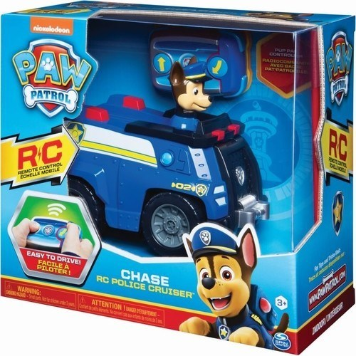 Paw Patrol Chase Remote Control Police Cruiser 6054190 papanikolaoustore.gr