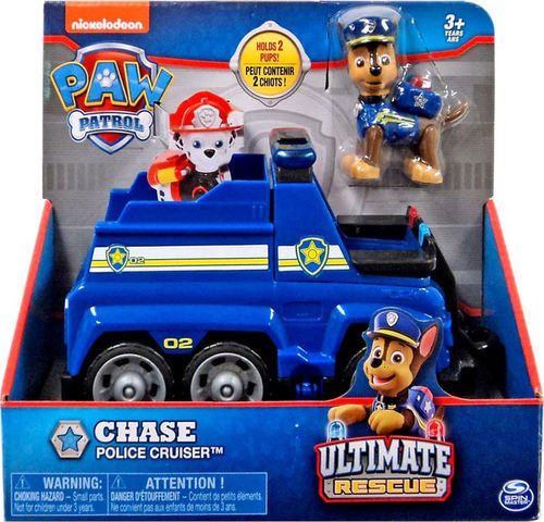 aw Patrol Ultimate Rescue Basic Vehicles Chase Police Cruiser 20101534 papanikolaoustore.gr