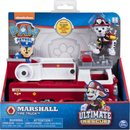 Paw Patrol Ultimate Rescue Basic Vehicles Marshall's Fire Truck 20101535 papanikolaoustore.gr