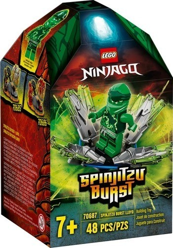 Ninjago Spinjitzu Burst Lloyd 70687 papanikolaoustore.gr