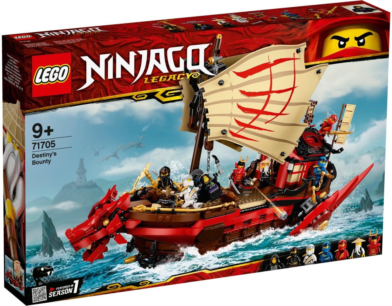 Ninjago Destiny's Bounty 71705 papanikolaoustore.gr