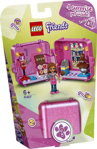 Friends Olivia's Shopping Play Cube 41407 papanikolaoustore.gr