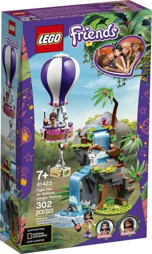 Friends Tiger Hot Air Balloon Jungle Rescue 41423 papanikolaoustore.gr