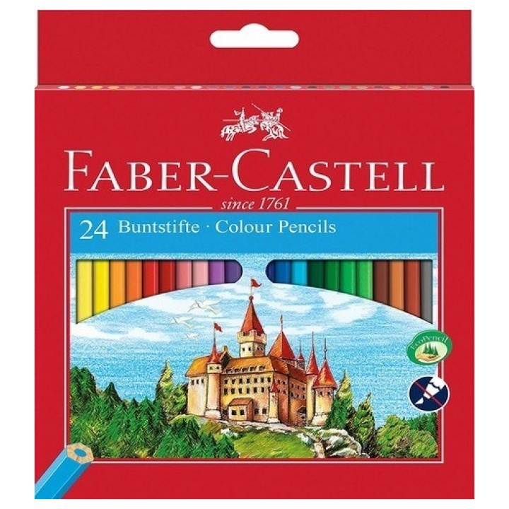 Faber-Castell Ξυλομπογιές σετ 24χρώματα