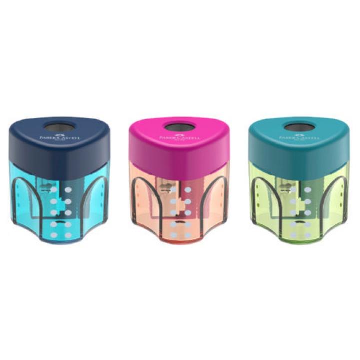 Faber-Castell Ξύστρα  Μικρή – 3 Χρώματα