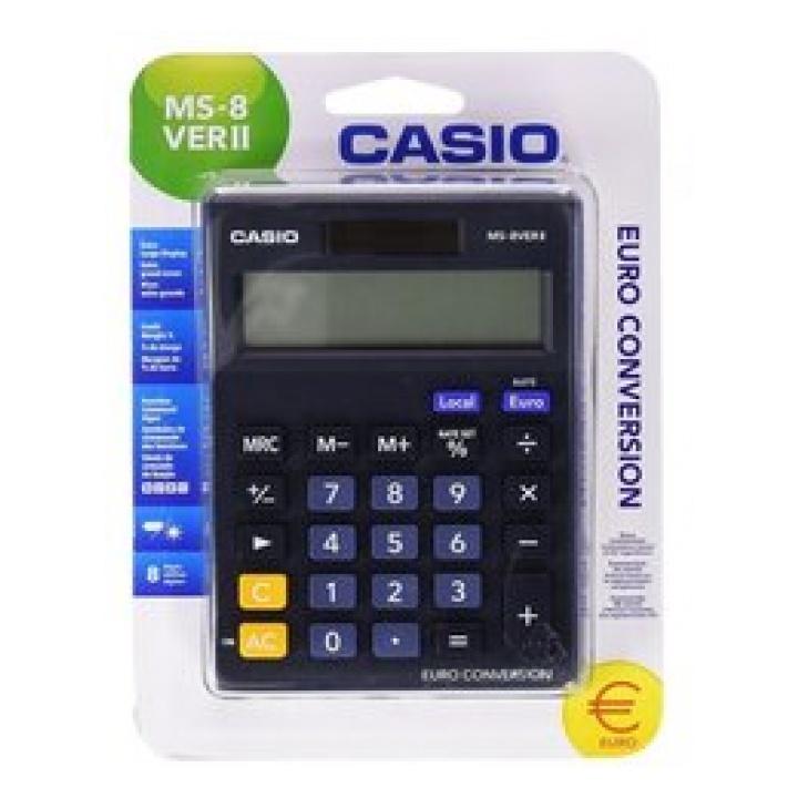 CASIO Αριθμομηχανή 8 Ψηφίων MS-8