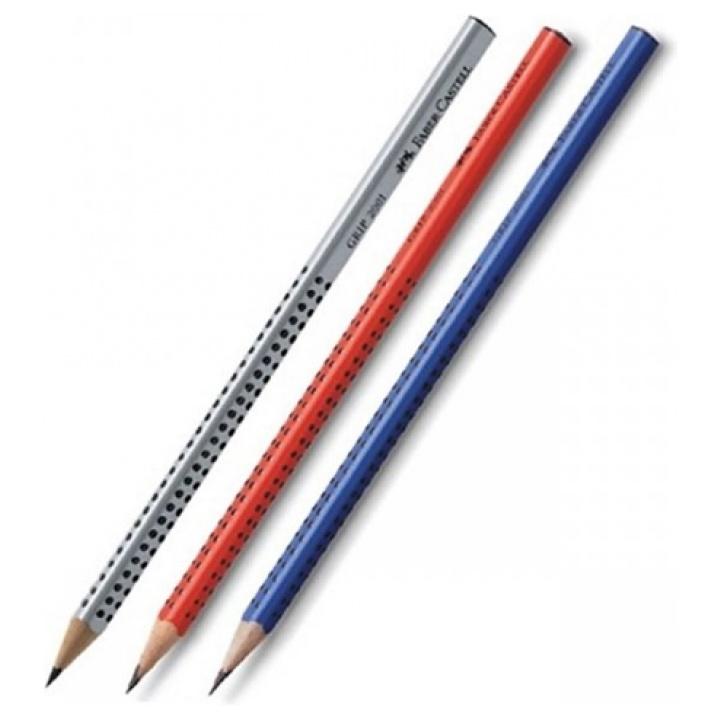 Faber Castell Μολύβι Χωρίς Γόμα Grip 2001 B ( 3 τεμάχια)