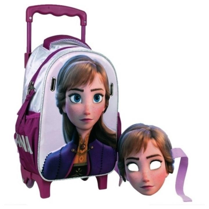 GIM Frozen II Anna Mask Τσάντα Trolley