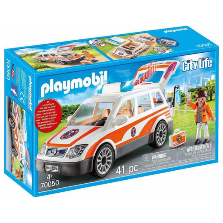 PLAYMOBILΟΧΗΜΑ ΠΡΩΤΩΝ ΒΟΗΘΕΙΩΝ